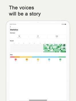 Murmullo : diario de voz captura de pantalla 9