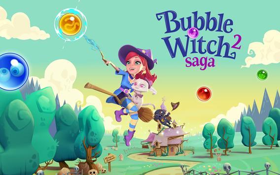 Bubble Witch 2 Saga تصوير الشاشة 10