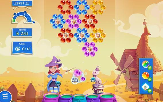 Bubble Witch 2 Saga تصوير الشاشة 11