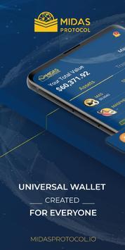 Midas Crypto Wallet: Bitcoin, Ethereum, XRP, EOS poster