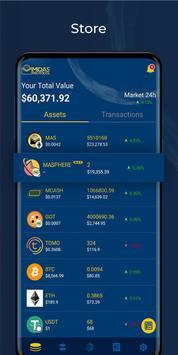 Midas Crypto Wallet: Bitcoin, Ethereum, XRP, EOS screenshot 3