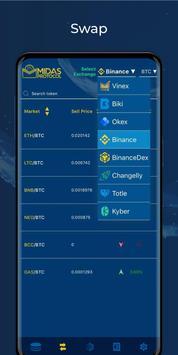 Midas Crypto Wallet: Bitcoin, Ethereum, XRP, EOS screenshot 4