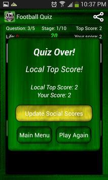 Football Quiz screenshot 5