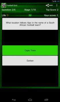 Football Quiz screenshot 13
