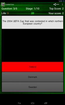 Football Quiz screenshot 10