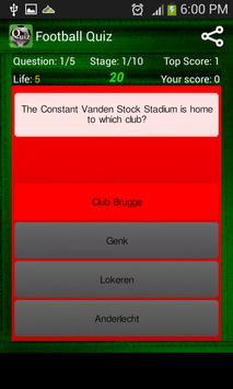 Football Quiz screenshot 1
