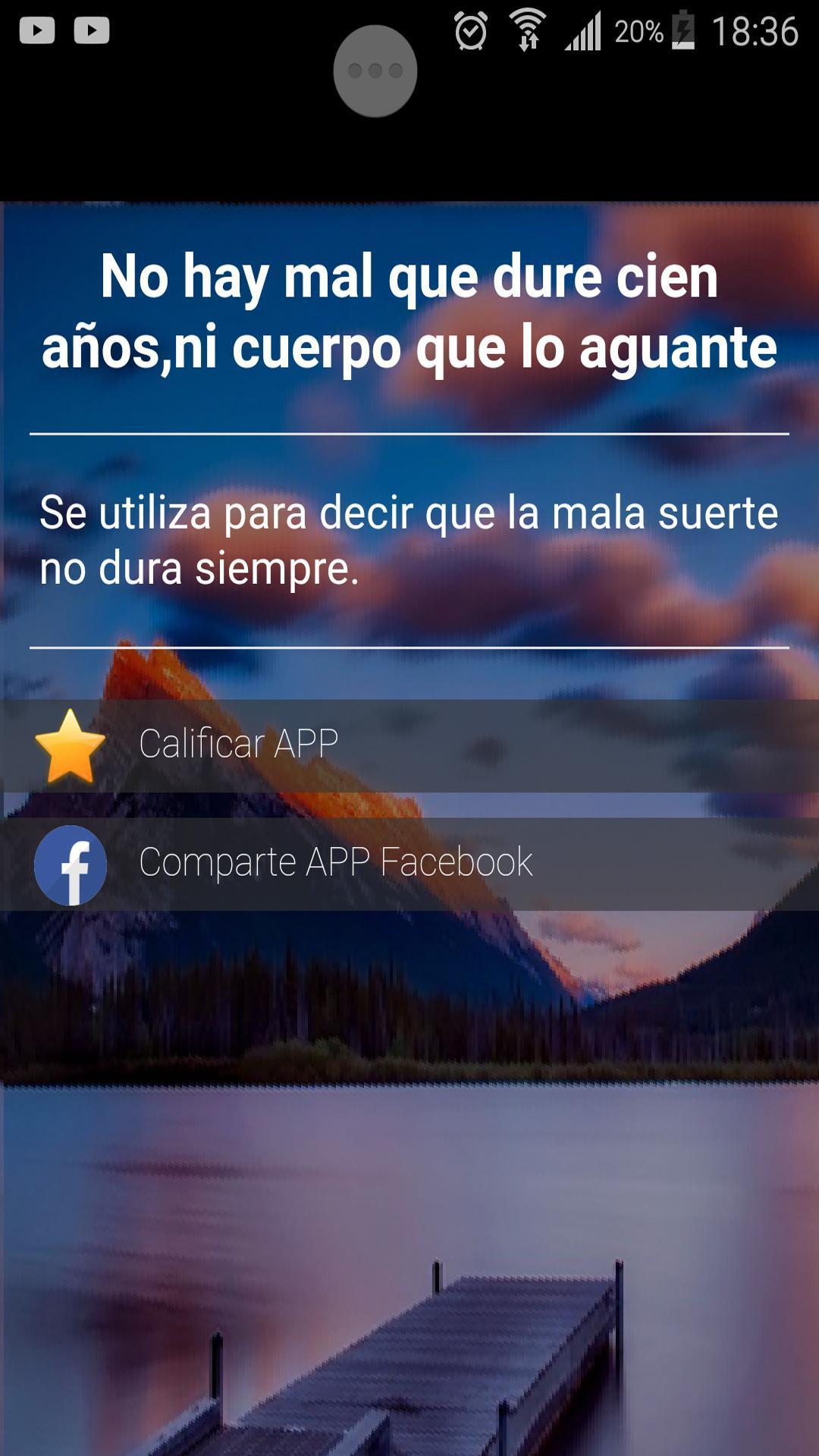Refranes Populares Y Dichos Cortos Con Significado For Android Apk Download