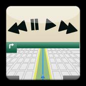 Media Button Overlay icon
