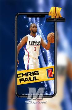 Chris Paul Wallpaper HD 4K 🏀🏀 poster