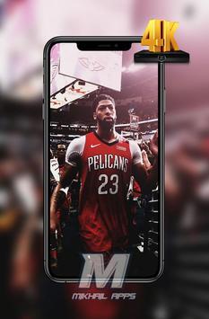 Anthony Davis Wallpaper HD 4K 🏀🏀 screenshot 1