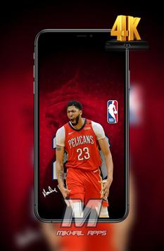 Anthony Davis Wallpaper HD 4K 🏀🏀 screenshot 4