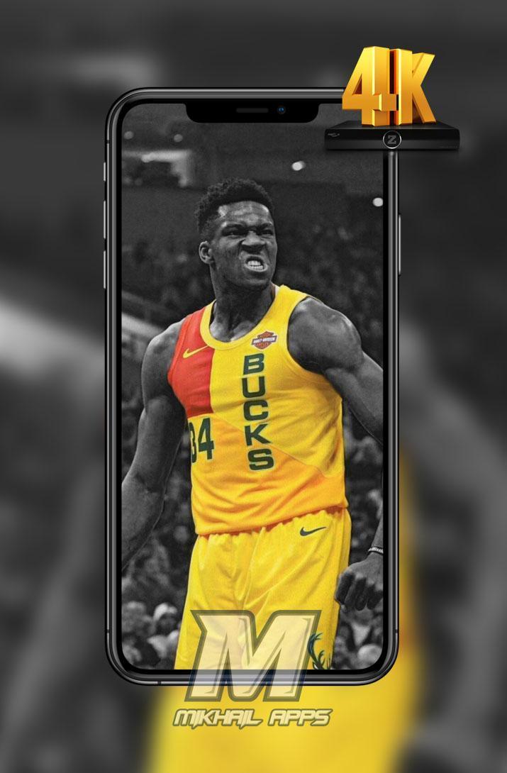 Giannis Antetokounmpo Wallpaper Hd 4k For Android Apk
