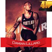 Damian Lillard Wallpaper HD 4K 🏀🏀 icon
