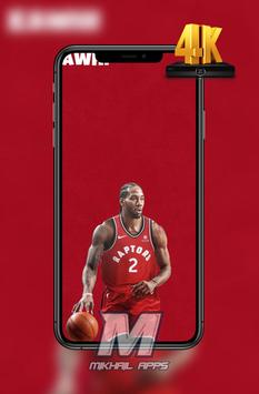 Kawhi Leonard Wallpaper HD 4K 🏀🏀 poster