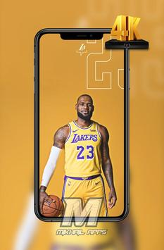 LeBron James Wallpaper HD 4K 🏀🏀 poster
