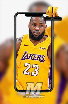 LeBron James Wallpaper HD 4K 🏀🏀 screenshot 1