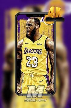 LeBron James Wallpaper HD 4K 🏀🏀 screenshot 2