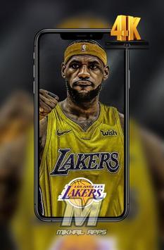 LeBron James Wallpaper HD 4K 🏀🏀 screenshot 3