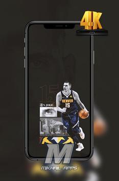 Nikola Jokic Wallpaper HD 4K 🏀🏀 screenshot 4