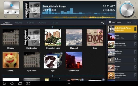 Select! syot layar 3