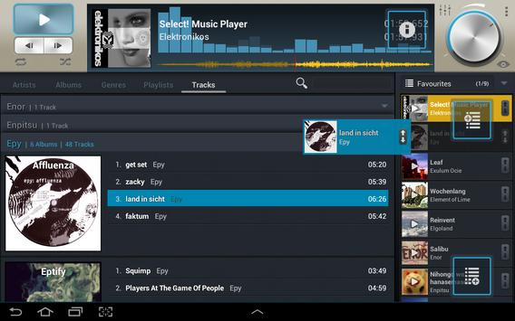 Select! Music Player Pro syot layar 4