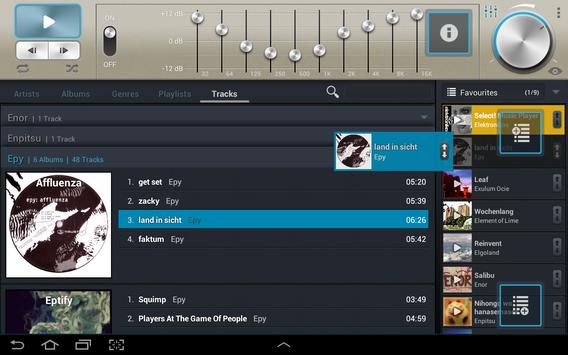 Select! Music Player Pro syot layar 5