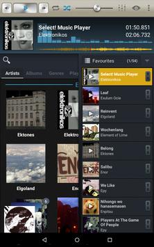 Select! Music Player Pro syot layar 6