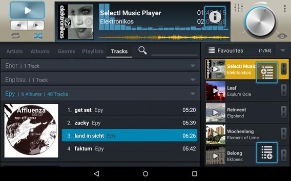 Select! Music Player Pro syot layar 7