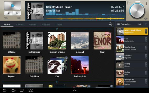 Select! Music Player Pro syot layar 3