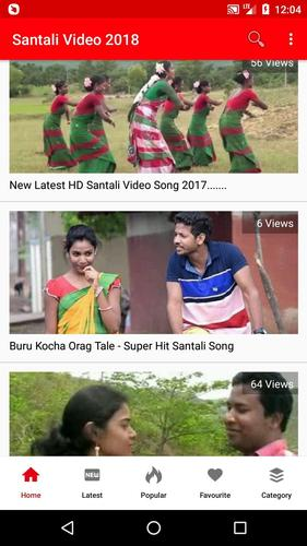 Download Santali Videos 2020 - Santali Song, DJ, Comedy 💃 2.0.2 Android APK