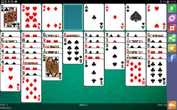 Freecell Solitaire screenshot 8