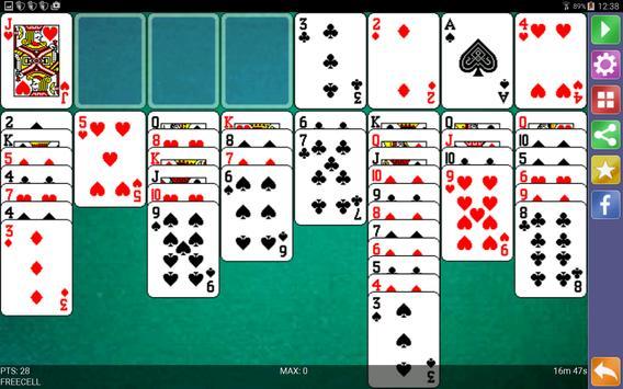 Freecell Solitaire screenshot 12