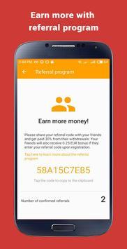 ربح المال: Money SMS تصوير الشاشة 3