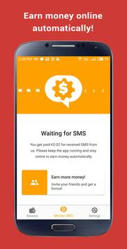 Make Money Online: Money SMS poster