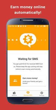 ربح المال: Money SMS الملصق