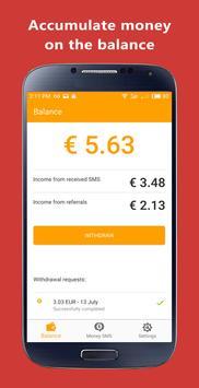 ربح المال: Money SMS تصوير الشاشة 2