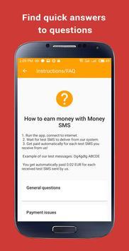 ربح المال: Money SMS تصوير الشاشة 7