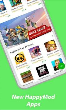 HappyMod - New Happy Apps & HappyMod Guide screenshot 3