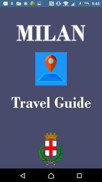 Milan Travel Guide poster