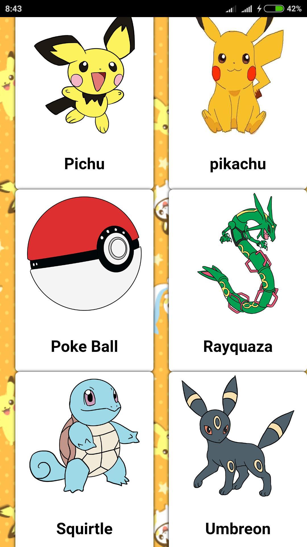 Como Desenhar Pokemon Facilmente Para Android Apk Baixar