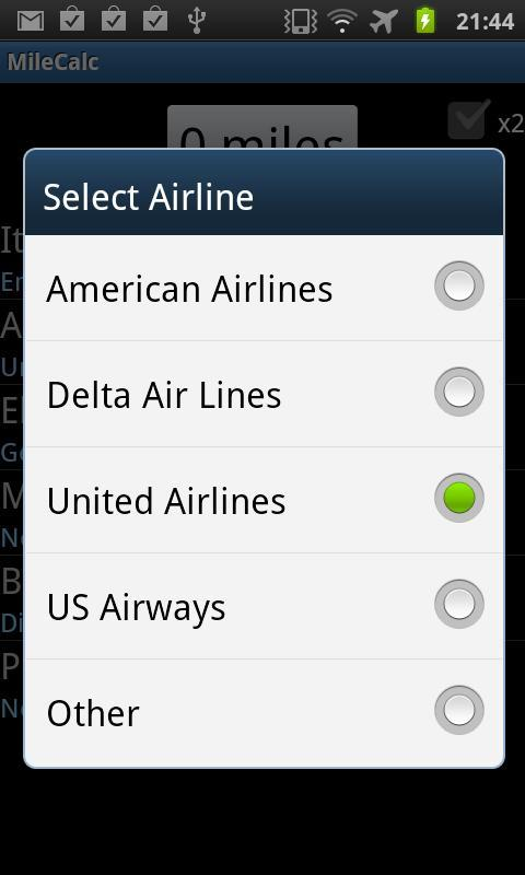 Air Mileage Calculator >> Airline Mileage Calculator For Android Apk Download