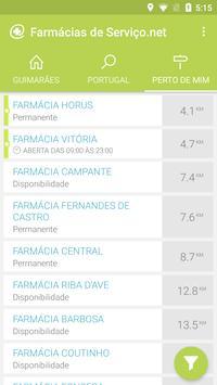 Farmácias de Serviço screenshot 2