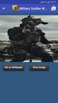 Military Soldier Wallpapers Poster