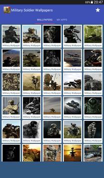 Military Soldier Wallpapers captura de pantalla 10