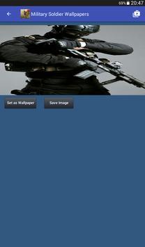 Military Soldier Wallpapers captura de pantalla 11