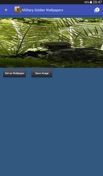 Military Soldier Wallpapers captura de pantalla 13