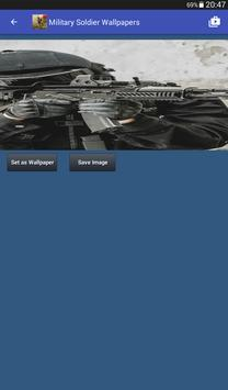 Military Soldier Wallpapers captura de pantalla 14