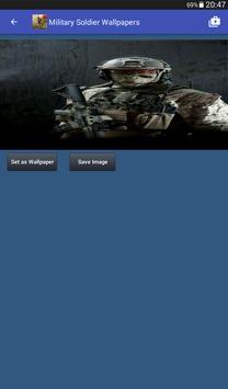 Military Soldier Wallpapers captura de pantalla 16
