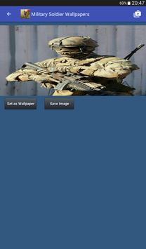 Military Soldier Wallpapers captura de pantalla 17