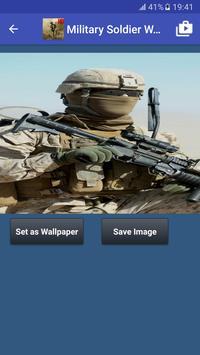 Military Soldier Wallpapers captura de pantalla 1